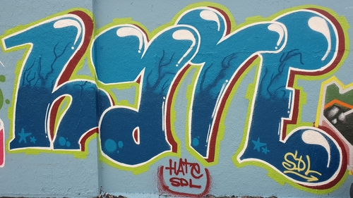 Wallspot - Hate_one -  - Barcelona - Agricultura - Graffity - Legal Walls -
